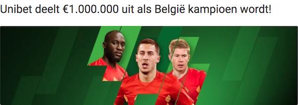 Belgie Unibet pool WK