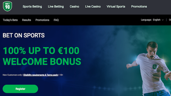 Bonus bet90