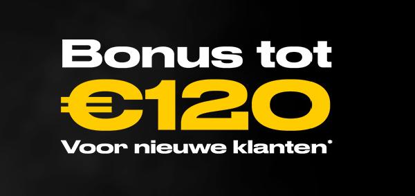 Stort nu een eerste keer bij Bwin en ontvang tot 120 euro bonus