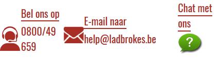 De klantenservice van Ladbrokes is via verschillende kanalen bereikbaar