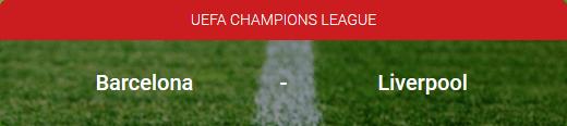 Barcelona - Liverpool en de odds Champions League bij Circus online