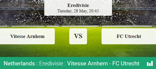 Vitesse tegen Utrecht in de Europese Play-Offs bij bookmaker Svenbet