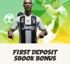 first deposit sbook bonus