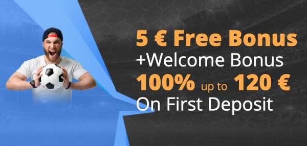 Pak 100% tot € 120 via de 24Bettle bonus