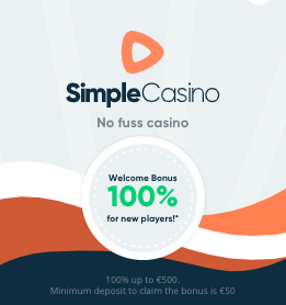 500 euro bonus bij simple casino