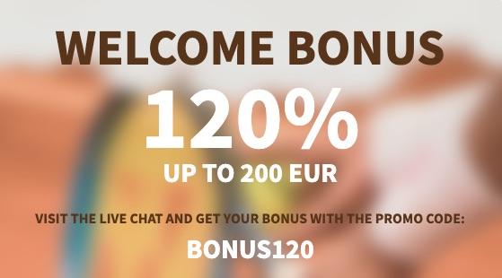 exclusieve dozenspins bonus 120%