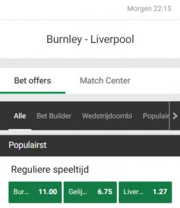 burnley liverpool odds 19-05-2021